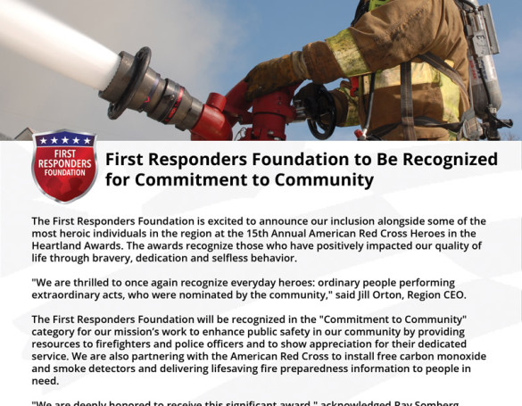 First Responders Foundation: Marketing Collateral