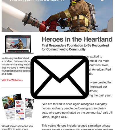 First Responders Foundation: Email Marketing