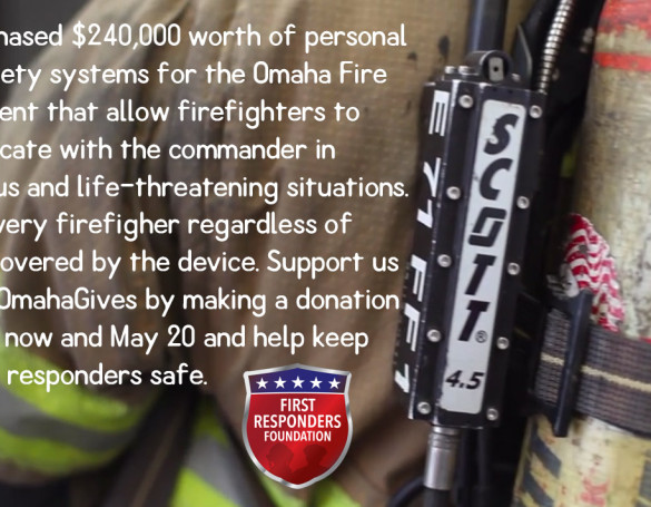 First Responders Foundation: Omaha Gives Campaign