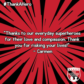 thank a hero quote
