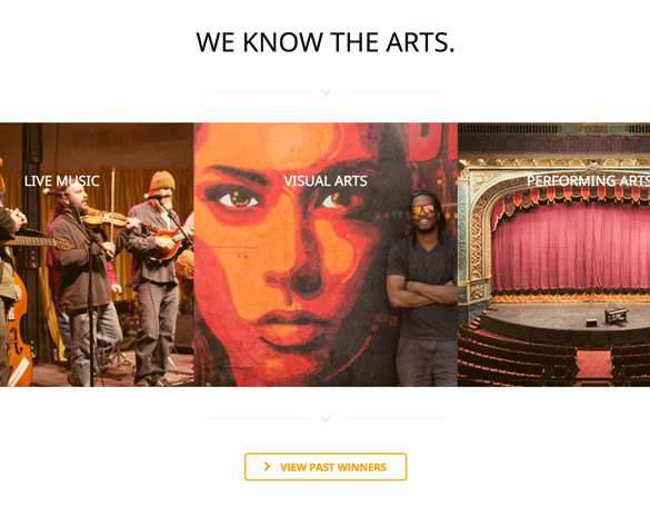 Omaha Entertainment and Arts Awards: Website