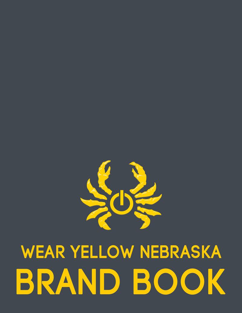Wear Yellow Nebraska: Brand Book