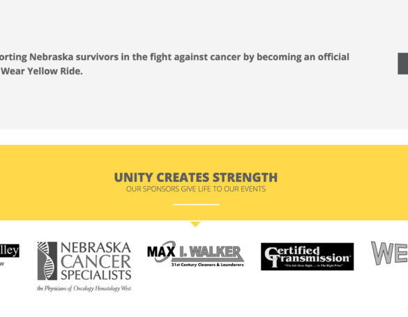 Wear Yellow Nebraska: Website