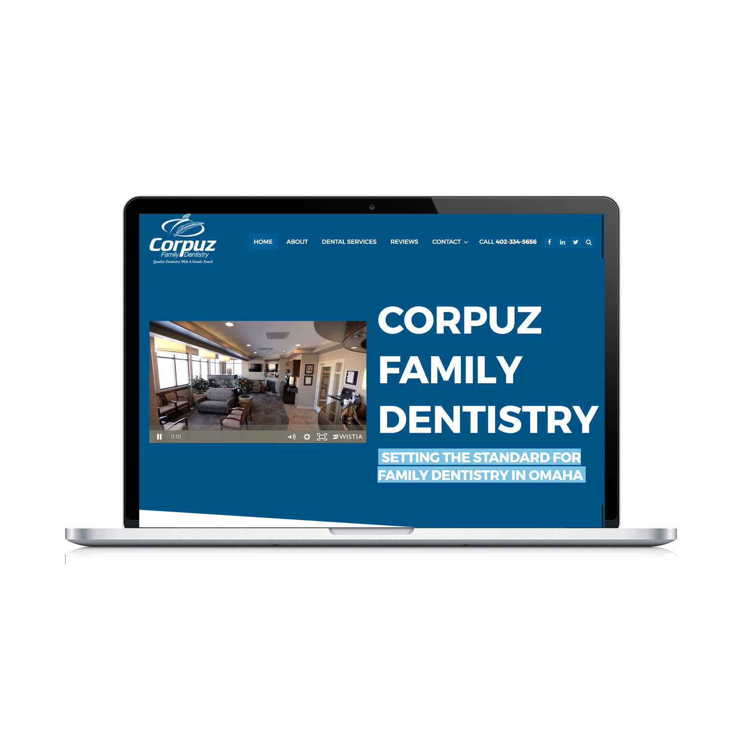 Corpuz Family Dentistry Website