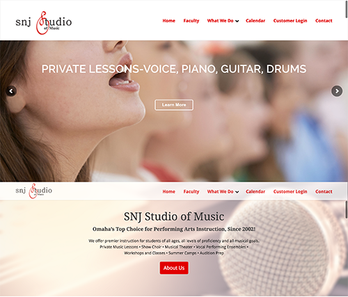 SNJ Studios Website