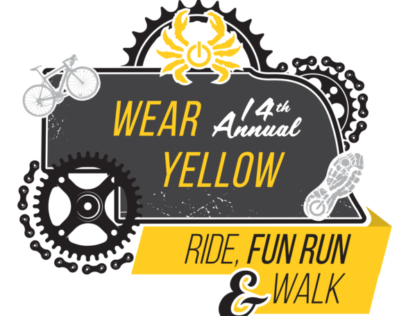 Wear Yellow Ride Event Branding